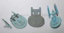 1994 Galoob Micro Machines Star Trek Group Lot Next Generation Excelsior & Worn