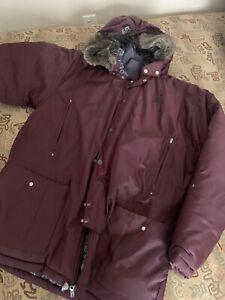Jodan-Moron-Retro-5-s-Winter-Coat-Mens-Sz-L-In-Mint-Condition