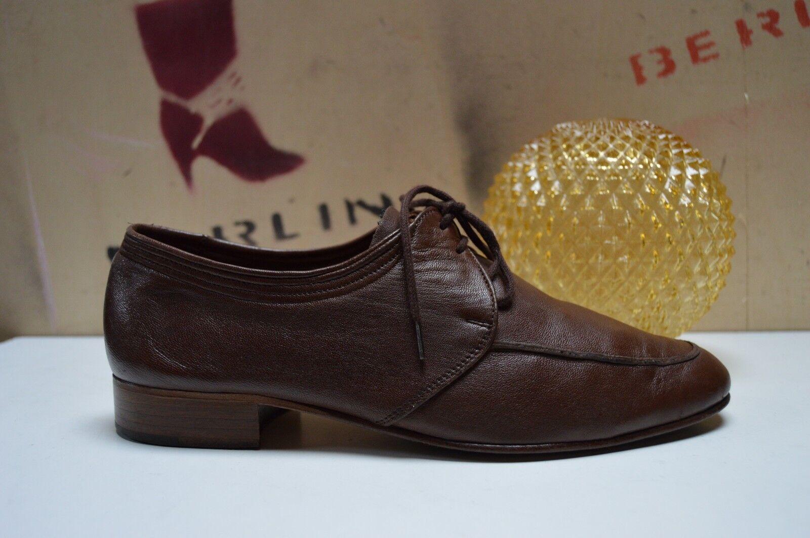 gli ultimi modelli Uomo normalissime Manz Manz Manz Marrone True Vintage Scarpe basse Marrone Pelle Leather  saldi