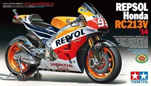 Tamiya HONDA REPSOL RC213V RC 213 V MotoGP 2014 MARQUEZ 1 12 Kit 14130