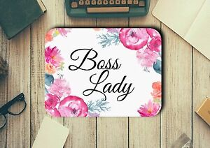 Boss-Lady-Mouse-Pad-Easy-Glide-Non-Slip-Heat-Resistant