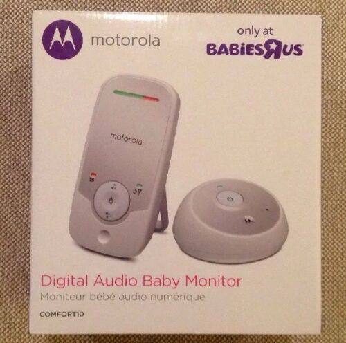 Motorola Digital Audio Baby Monitor High sensitivity microphone Up to 990 New