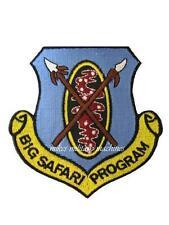 USAF Air Force Black Ops Area 51 Big Safari Program Office Top Secret Patch New