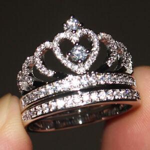 Image Is Loading 14k White Gold Over Women 039 S Diamond