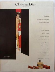page-de-publicite-PARFUM-EAU-SAUVAGE-DE-DIOR-par-GRUAU-en-1981-ref-50419