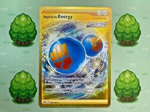 Pokemon - Rapid Strike Energy - 182/163 - Battle Styles - Secret Rare
