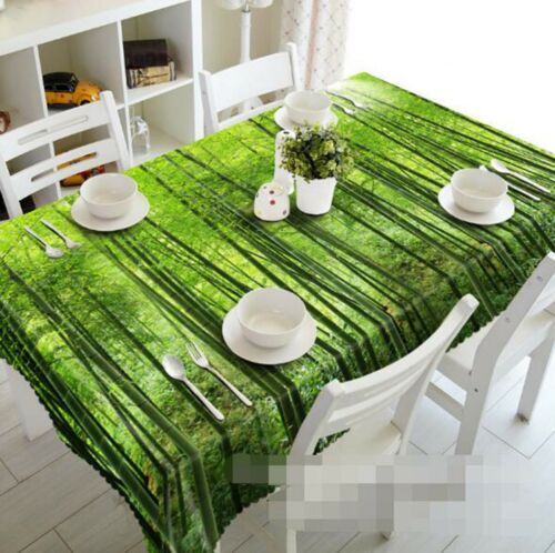 3D Bamboo Plant 126 Tablecloth Table Cover Cloth Birthday Party Event AJ Lemon