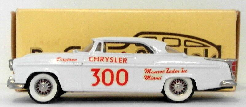 Brooklin maßstab 1  43 brk19 003 - 1955 chrysler c300 bcc besondere modell 1 350