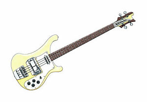 Chris-Squire-039-s-Rickenbacker-RM1999-Bass-Affiche-Imprime-A1-Taille