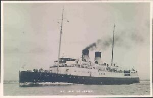 Postcard Shipping ferries SS Isle Of Jersey  unposted - Rossendale, United Kingdom - Postcard Shipping ferries SS Isle Of Jersey  unposted - Rossendale, United Kingdom