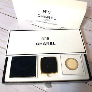 Vintage-CHANEL-No-5-Pressed-Parfum-Perfume-Compact-Refill-NEW-NIB