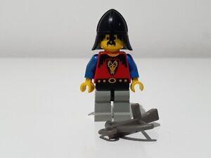 LEGO DRAGON KNIGHTS LIGHT GREY BLACK LEGS BLACK NECK PROTECTOR cas013  6043 6056