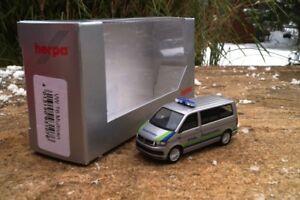 Herpa-VW-t6-Bus-034-BLS-AG-vigili-del-fuoco-ch-1-87-NUOVO-OVP-MODELLO-EXCLUSIV