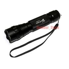 New UltraFire Tactical WF-501B Xenon 7.4V 130 Lumens CR123A Flashlight Torch