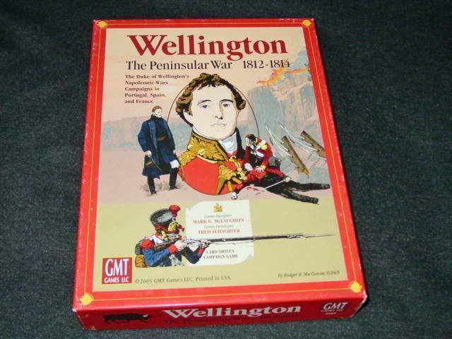 GMT GAMES 2005 - WELLINGTON game - Napoleon's The Peninsular War (1812-1814)