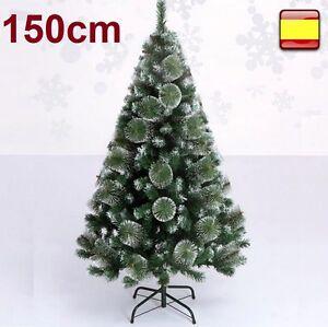 Arbol-de-navidad-1-50-M-150-cm-verde-nieve-pino-navideno