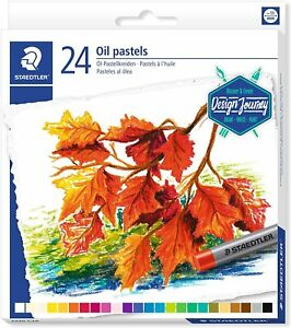 Staedtler 24 Huile Pastel Art. 2420 C24 Livraison Tracée