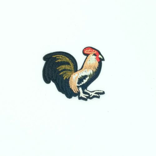 Embroidery Applique Patch Sew Iron Badge Chicken Rooster Animal Iron On