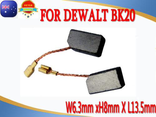 Carbon Brushes For Dewalt BK20 Grinder DW810 DW803 DW806 DW801 6.3X8X13mm