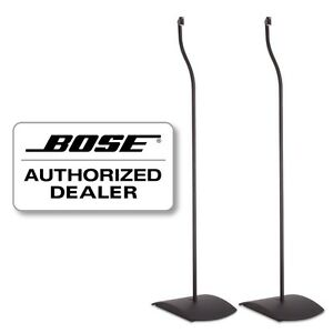 bose ufs 20 floor stands in black. Black Bedroom Furniture Sets. Home Design Ideas
