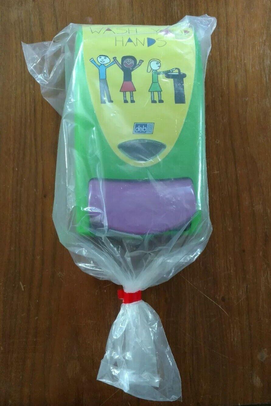 Green Fits Foam Soap 1 Liter Cartridge NEW Deb Soapy Soap Dispenser /& 1 Key