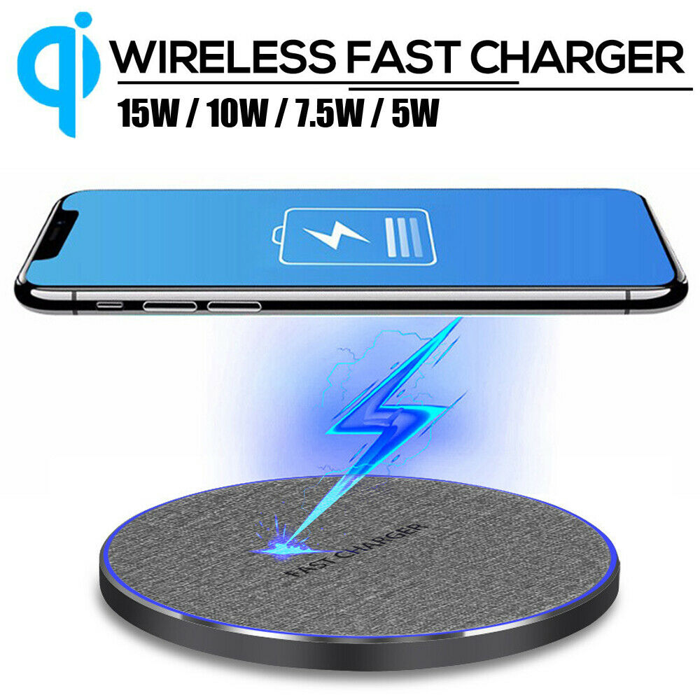 1510W7.5W Wireless Charging Dock Type C Qi Charger Pad For Samsung S10 Huwei