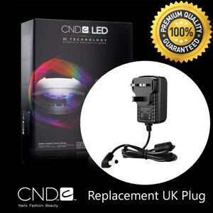 CND-BRISA-Nail-Lamp-Replacement-Lead-UK-Plug-AC-Adaptor-Wire-Cord-LED-Light