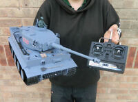 Heng Long Radio/remote Control Rc Tiger Tank 1/16th Scale Super Detail Cheap