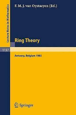 1 of 1 - Ring Theory: Proceedings of an International Conference, Held in-ExLibrary