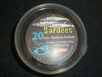 25 pack Inline Catfish Rattles Cod Halibut Flatties Bead Rattles Fish Attractant