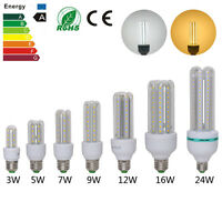 E27 3W/5W/7W/9W/12W/16W/24W LED Light Bulb Lamp Energy Saving Corn Light 85-265V
