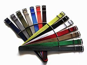 NATO ® X-treme Heavy ballistic nylon G10 Military Sport watchband strap bond USA