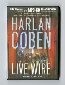 Live-Wire-by-Harlan-Coben-MP3CD-Audiobook