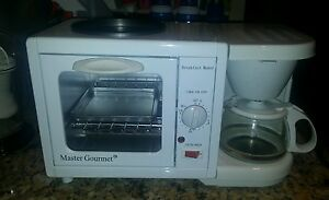 ... Breakfast-Station-Coffee-Maker-Toaster-Oven-RV-Dorm-Electric-3-in-1