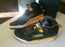 Jordan SPIZIKE , black /yellow WU TANG color way  , 12