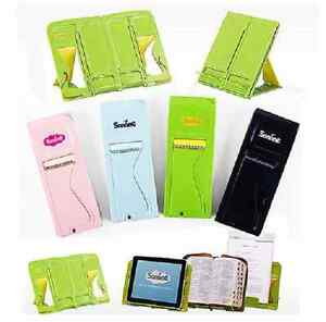 Portable-Book-Stand-Holder-Document-Notebook-iPad-Galaxy-Tablet-PC