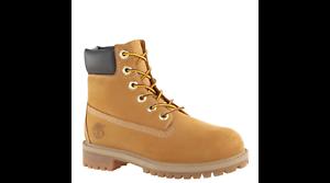 Details zu Timberland 6 Inch Premium Wheat Nubuck Leather Waterproof Boot 12909 Junior