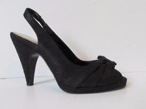 NEXT Ladies Black Shimmery High Heel