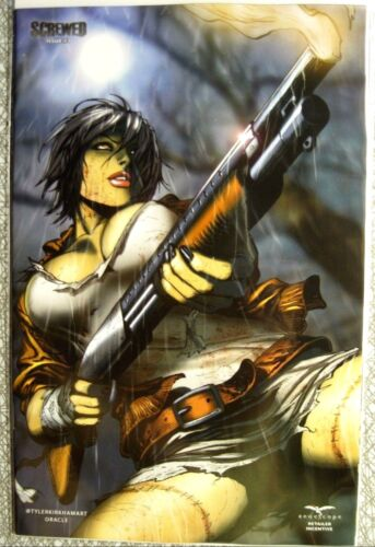 NM KIRKHAM retailer incentive SOLD-OUT Zenescope Grimm Fairy Tales SCREWED #3