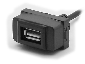 Carav 17-007 USB autoradio USB prórroga para mitsubishi //sin Select models