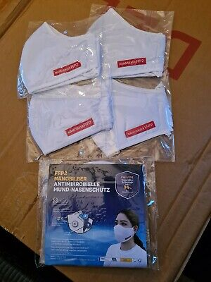 5 St FFP2 Atemschutzmaske Mundschutz Maske 30 x waschbar 3 ...