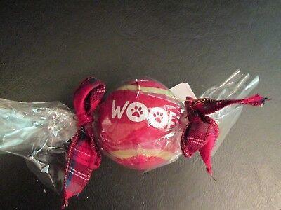 Doggie Tennis Ball Leopard Print Mud Pie New in Gift Box