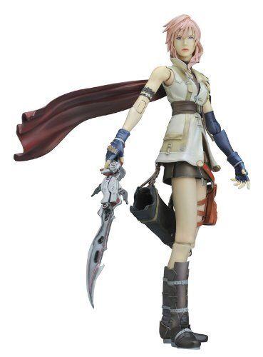 solo cómpralo Square Enix Final Fantasy XIII XIII XIII Lightning De Jugar Arts Kai Figura Nueva De Japón  gran venta