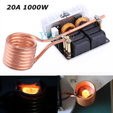 New 1000W ZVS Low Voltage Induction Heating Board Module/Tesla coil 12-48V 20A