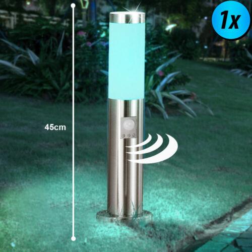 1-2x DEL Timer extérieur Steck doses RGB Télécommande Capteur debout Lampes Variateur