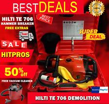 Hilti Te 706 Demolition Hammer Breaker Free Hilti Hat Amp Knife Fast Ship