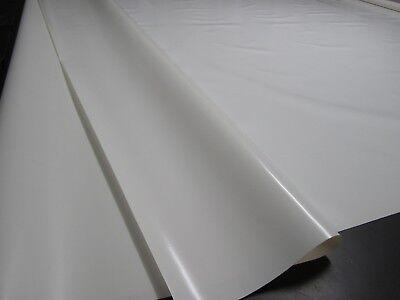 950 g//m² 3m breit WEIß RAL 9010 PVC LKW Plane Ösen Saum