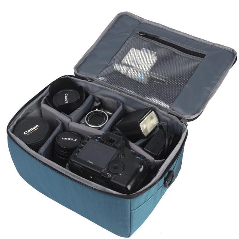 DSLR Camera Shoulder Bag Camcorder Padded Deluxe Carry Case Storage Bag Large