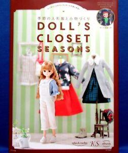 Doll-039-s-Closet-saisons-Blythe-Japonais-handmade-Doll-Clothes-Sewing-Book