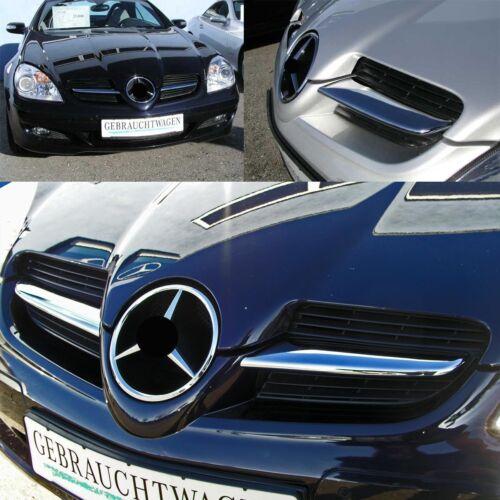 Fairing Der Kühlergrillfinnen Fins Chrome for Mercedes SLK R171 2004-2008
